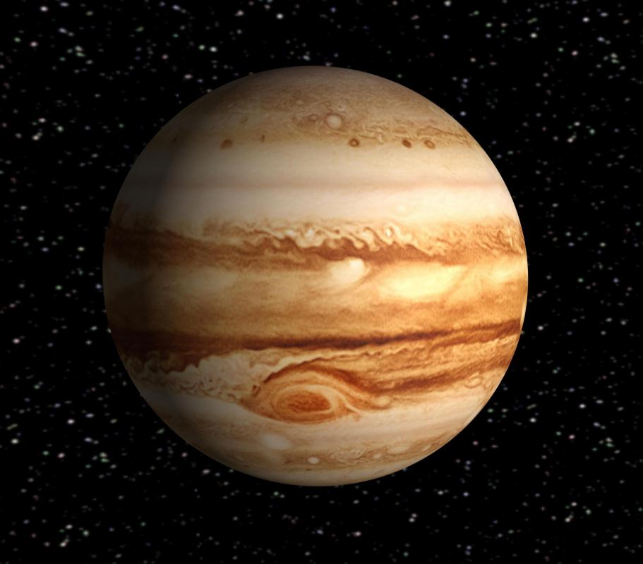 Jupiter's magnetic field is 1/3,000th of a tesla, which is ten times stronger than Earth's magnetic field.