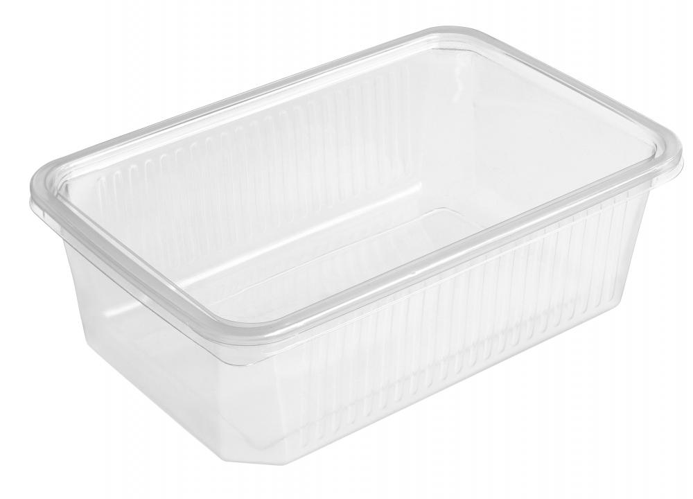 Plastic resealable containers are often made using recycled plastic.