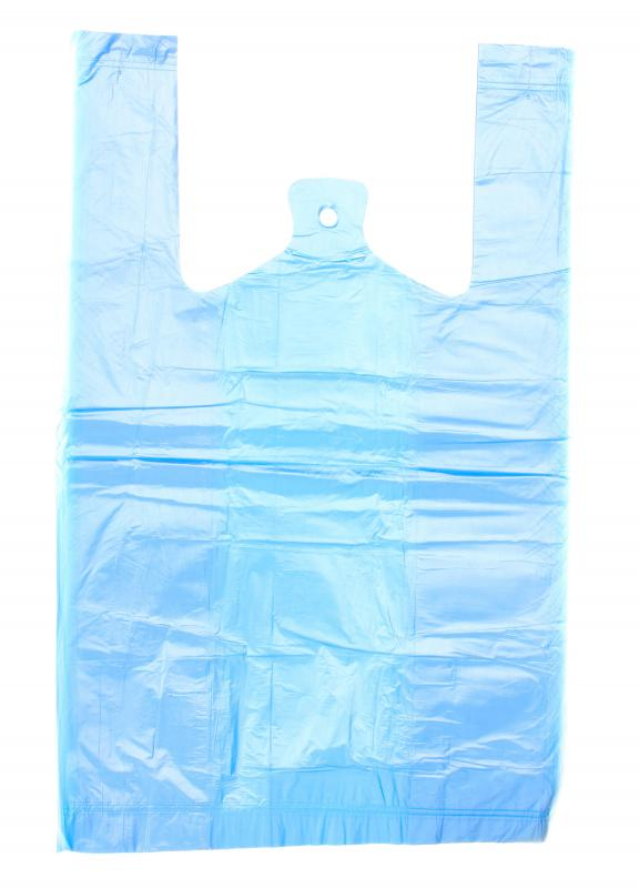 A recycled plastic bag.