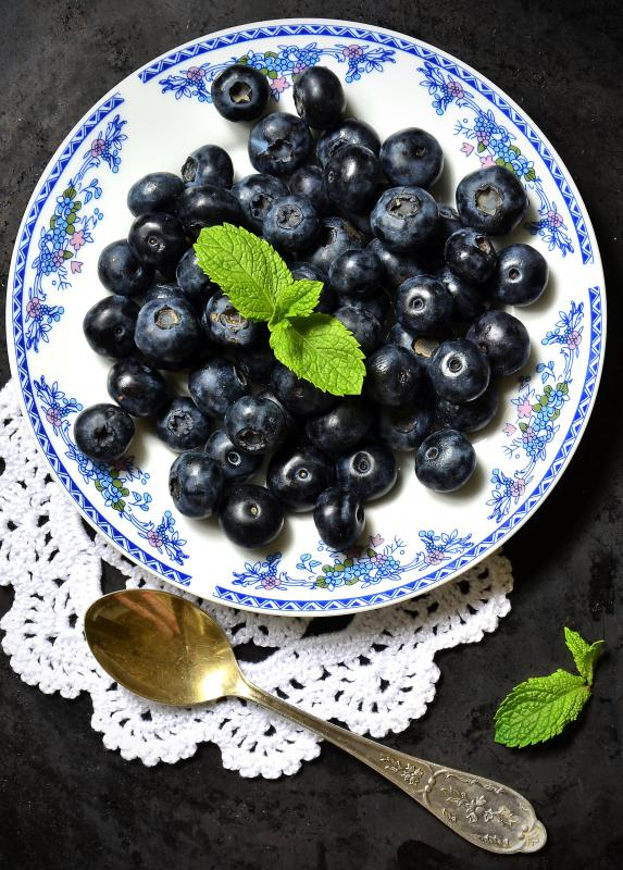 Blueberries are an example of a plant that needs acidic soil to grow.