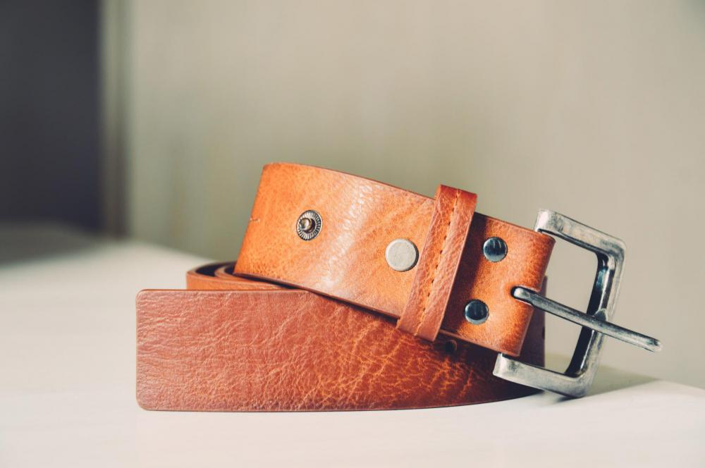 Pleather belts can keep their visual appeal for many years if properly maintained.