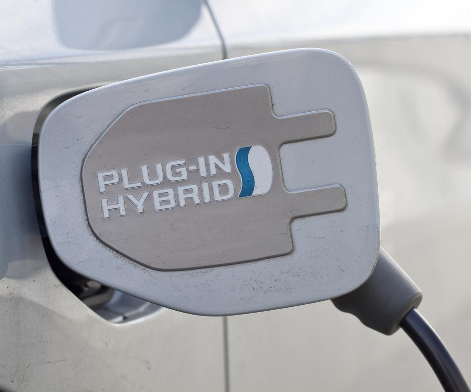 A plug-in hybrid allows you to charge the car's battery by plugging into an electrical power source.