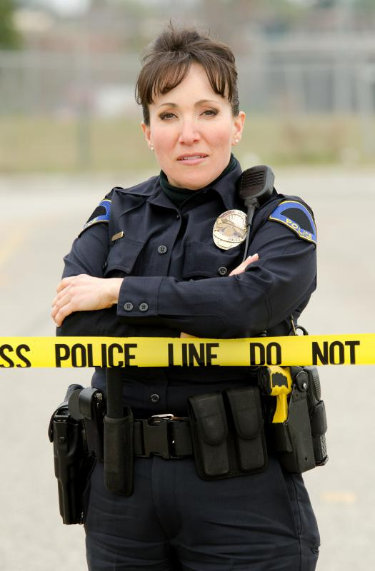 It's rare for women to hold high-level positions in law enforcement.