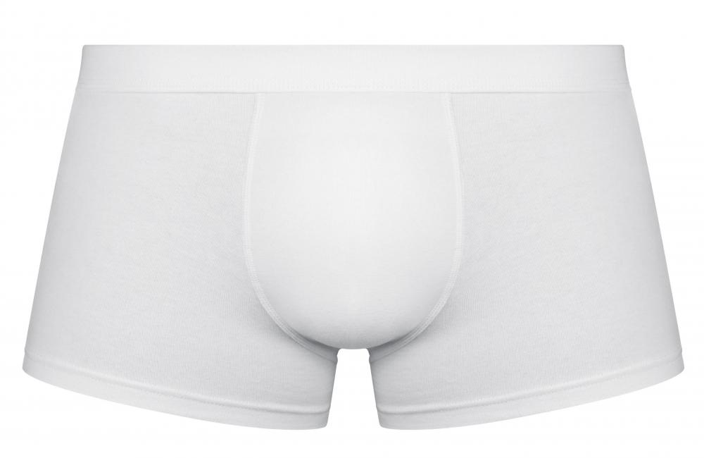 Men's underwear featuring a soft cup in front.
