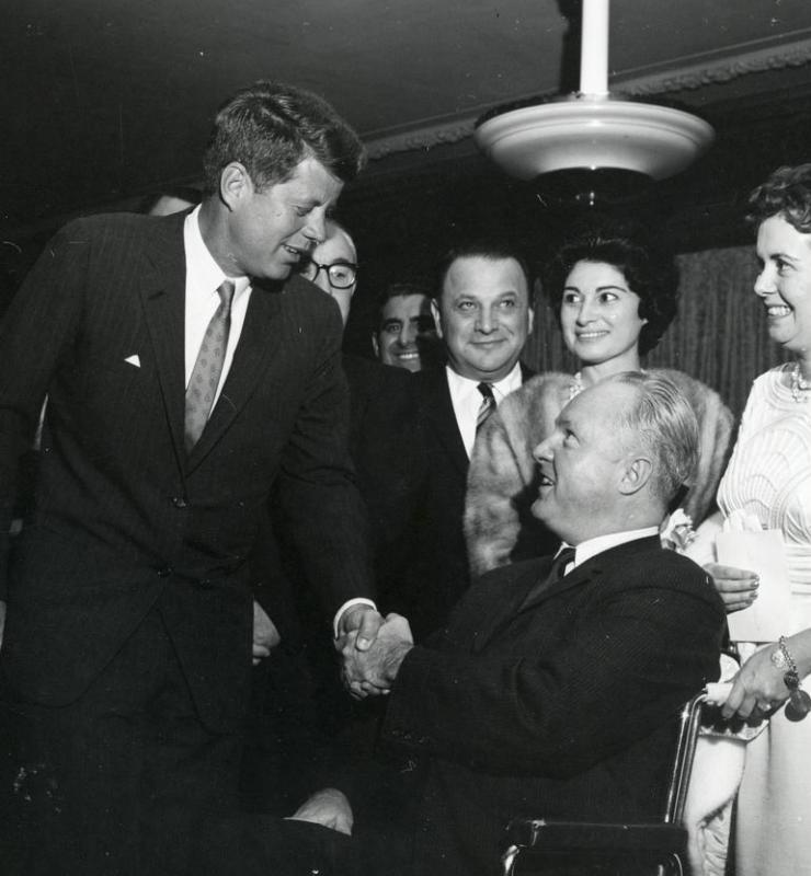 President John F. Kennedy was said to be very charismatic.
