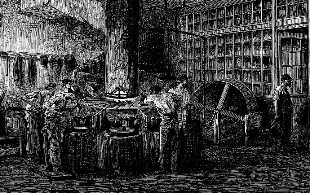The Industrial Revolution, which introduced new manufacturing methods, was a technological revolution.