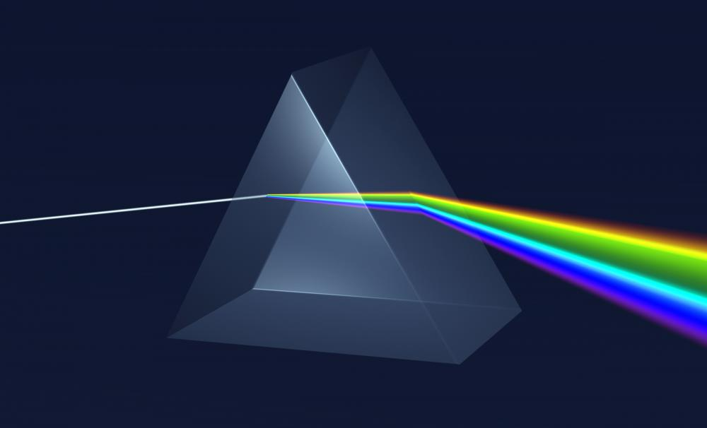 A prism is a transparent object with smooth, flat sides that refracts light.
