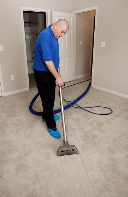 A professional carpet cleaner.
