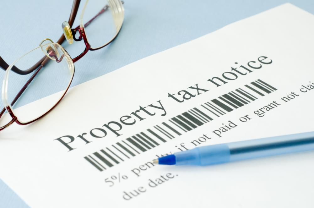 Property taxes are one form of closing costs.
