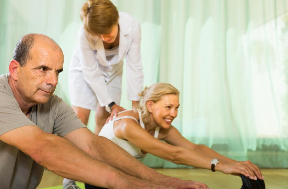 Patients suffering from bradykinesia may benefit from stretching on a regular basis.