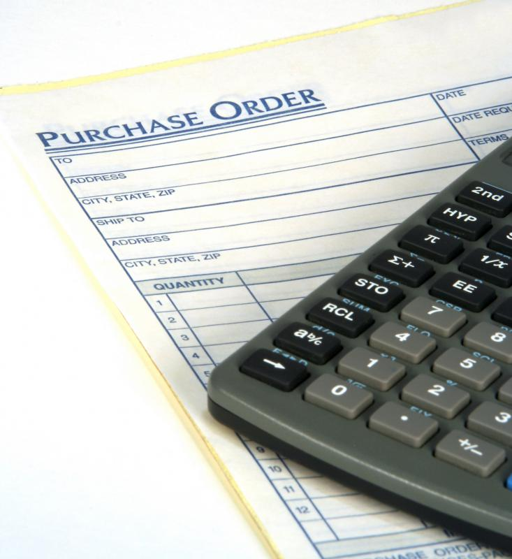 A purchase order number is an alphanumeric code that is assigned to a request to buy something.