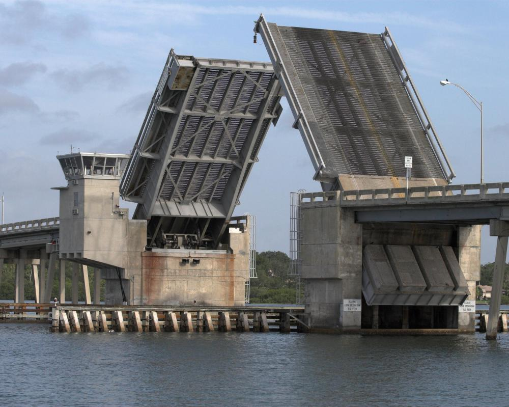 Bascule bridges are the most common type of movable bridge in the world.