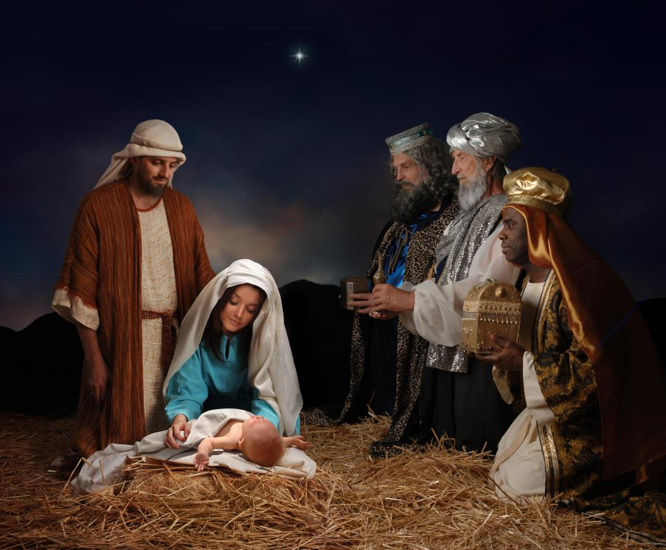 Jesus was said to have been born in a manger in Bethlehem.