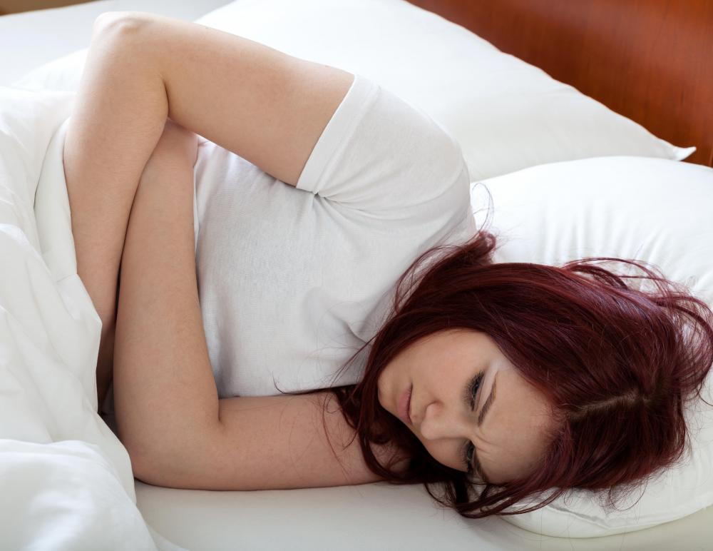 Women will commonly experience cramping during pregnancy.