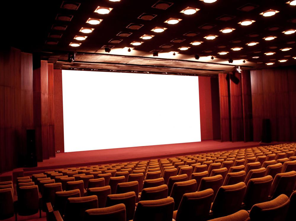 Movie theaters are included in the film industry.