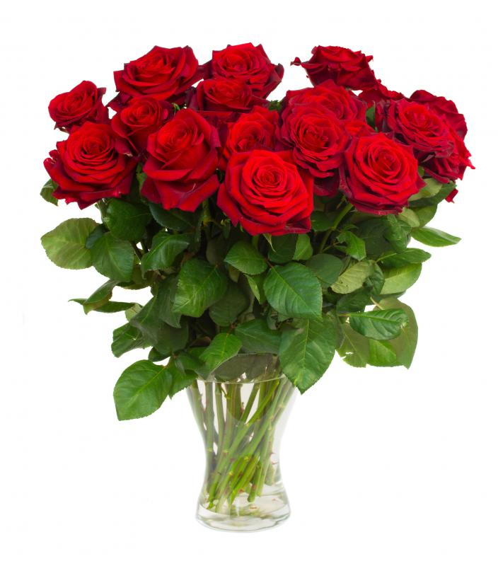 Flowers are always a good gift idea for women.