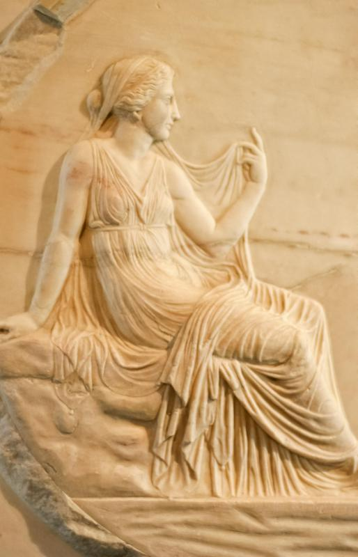 Legends concerning the god Demeter were at the heart of the Eleusinian Mysteries.
