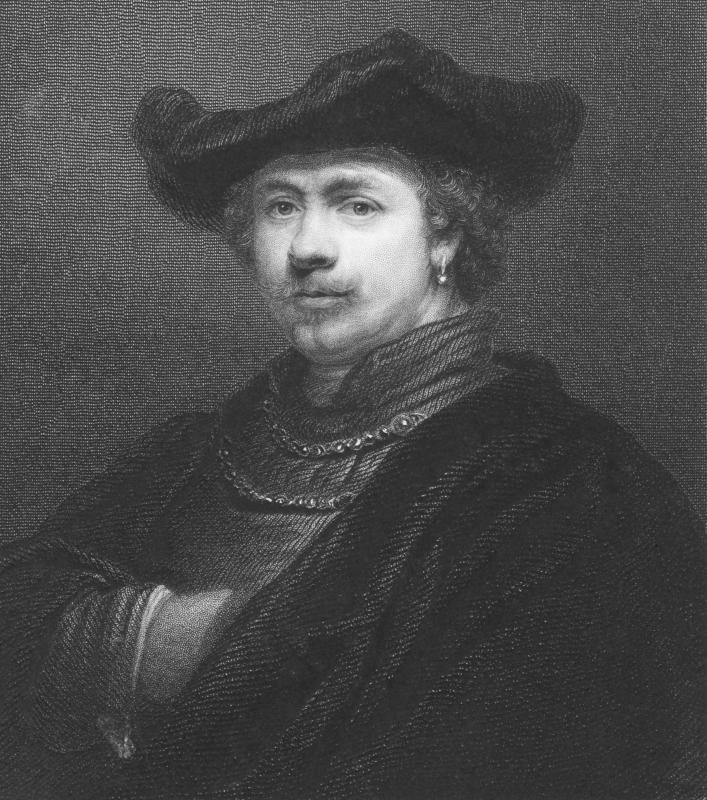 Despite his fame as an artist, Rembrandt struggled financially, apparently spending more than he could afford.