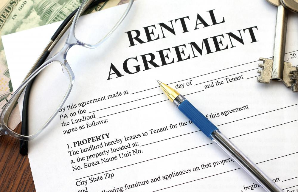 Many rental agreements specifically forbid tenants from using their personal units for any type of professional endeavor.
