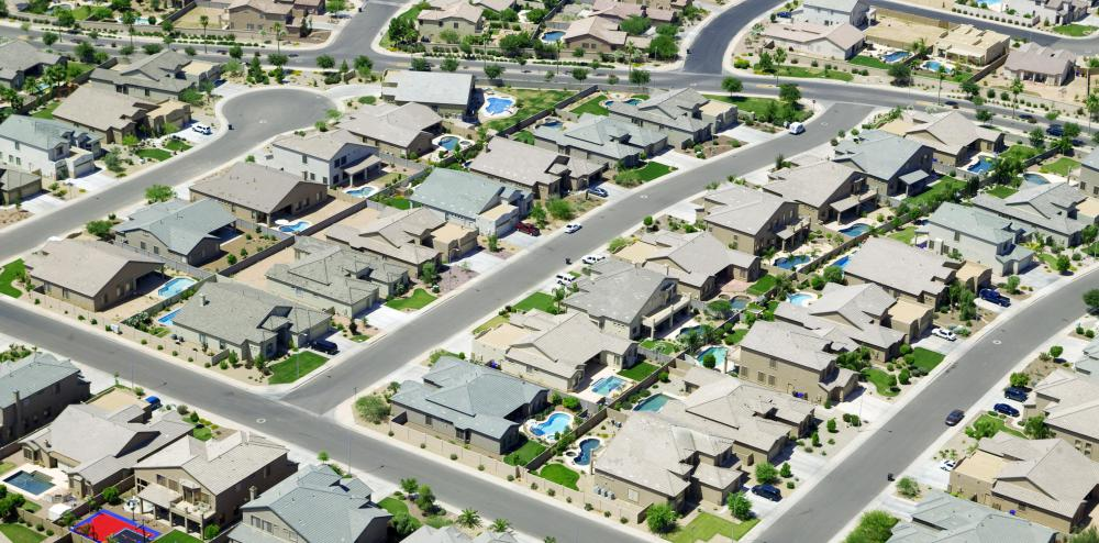 Residential zones are reserved for housing and similar developments.