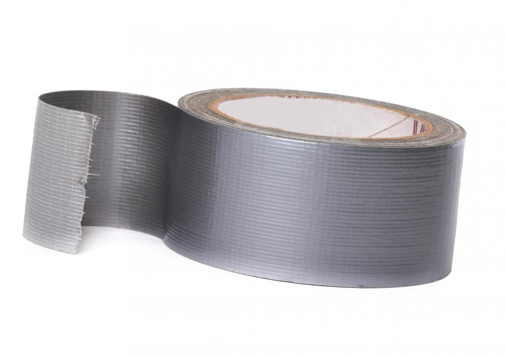 Duct tape is a type of cloth tape often used in heating and ductwork.