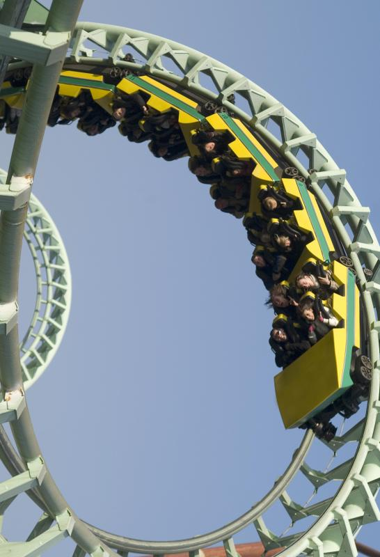 An object that is moving parallel to a curved surface, like a roller coaster on a loop, is moving translationally.