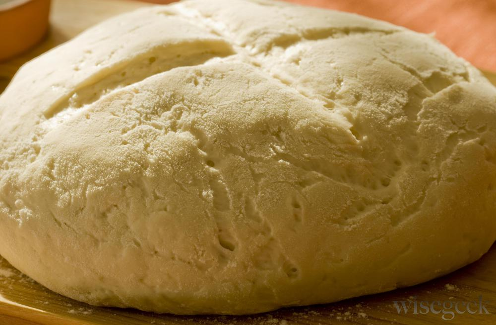 Fermentation causes bread to rise.