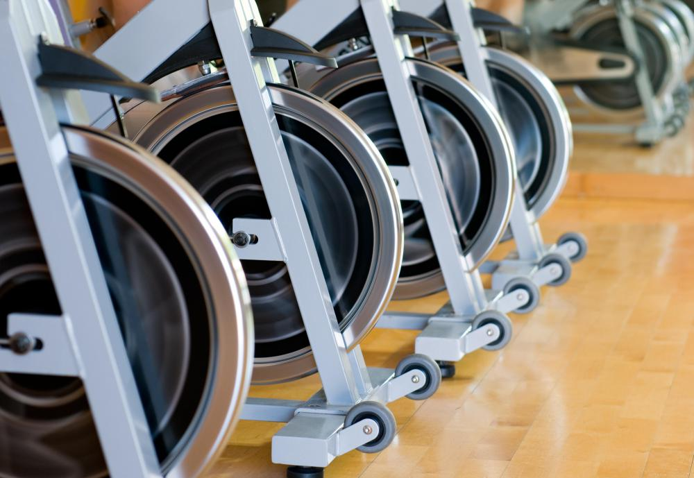 A spin bike is often designed to provide an experience akin to road biking.
