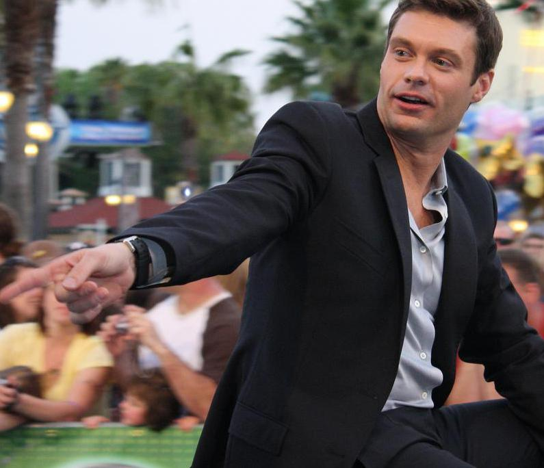 "Ryan Seacrest -- a famous radio and television show host -- has appeared on the MTV show ""Punk'd!""."