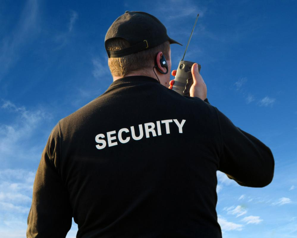 Chemical plants may employ security guards.