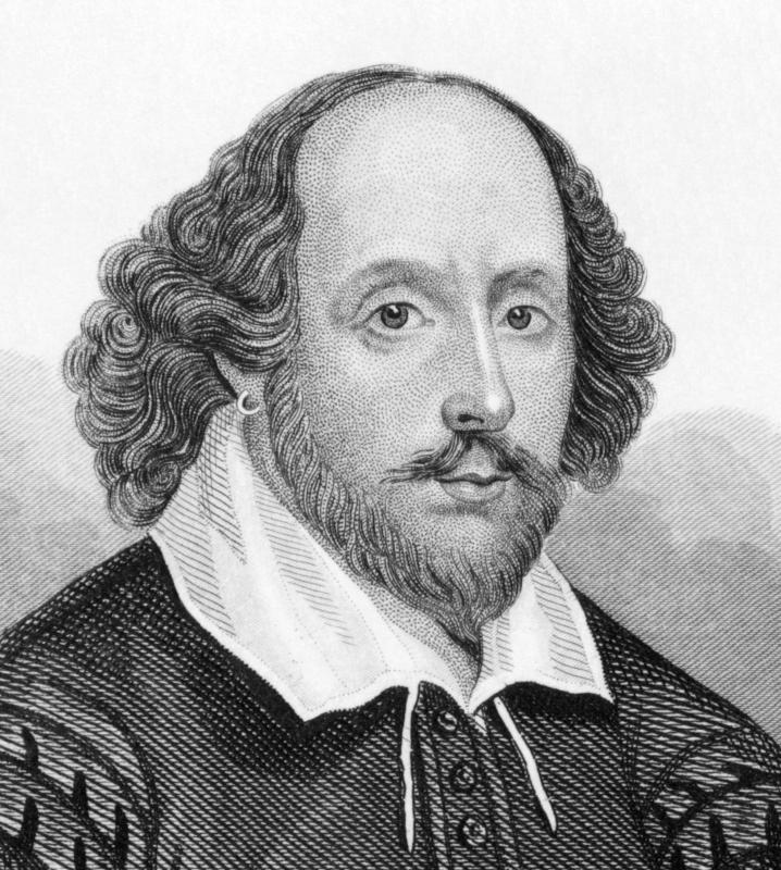 Traditional poetry, like the work of William Shakespeare for instance, features a much more rigid pattern.