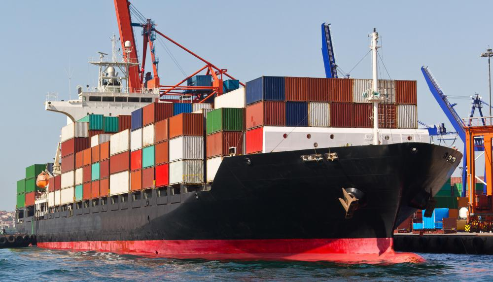 A freight forwarding service utilizes established relationships with carriers of all kinds, including ocean liners.