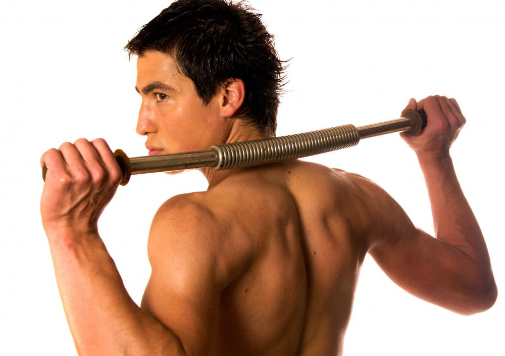 A power twister is a useful upper body strengthening tool.