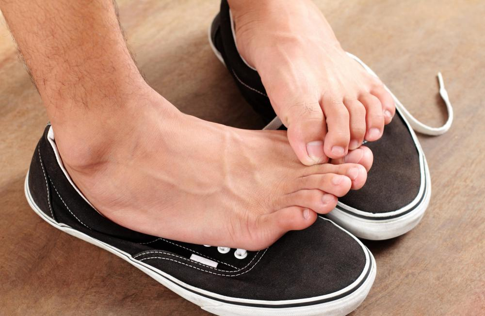 Athlete's foot is one of the most common types of skin fungus.