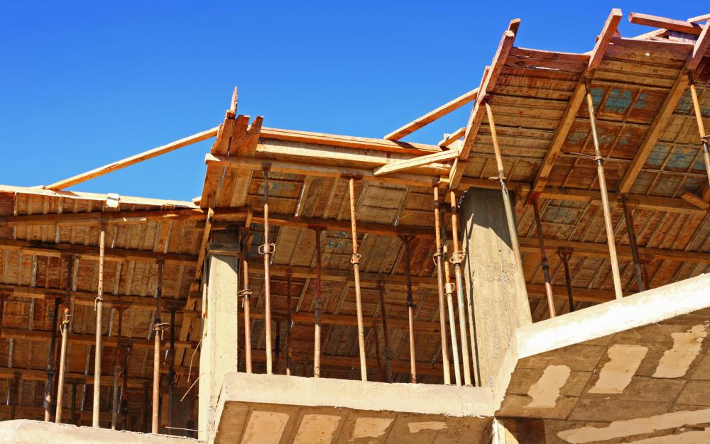 Formwork is the addition of base materials and concrete contained within retaining walls to use as a slab for construction of homes, businesses, and other buildings.