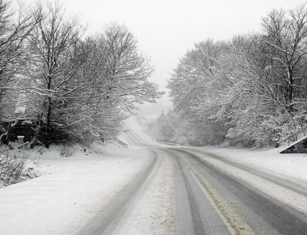 Snow tires are designed to replace regular tires to make driving on snow and ice safer.