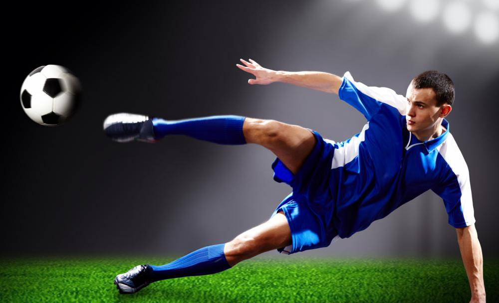 Soccer can be a very physically demanding sport.