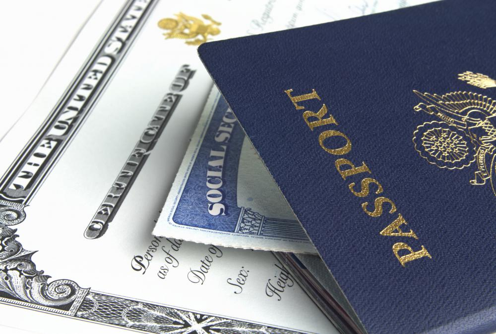 An official passport is issued for state business.