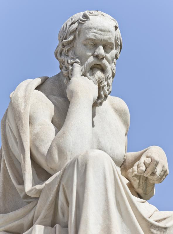 Socrates, who mentored Plato.
