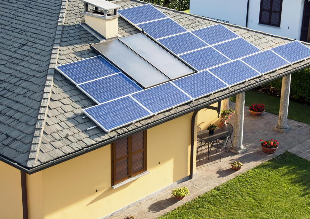 Solar energy powered homes are now able to power major household appliances like stoves, refrigerators, computers and TVs.