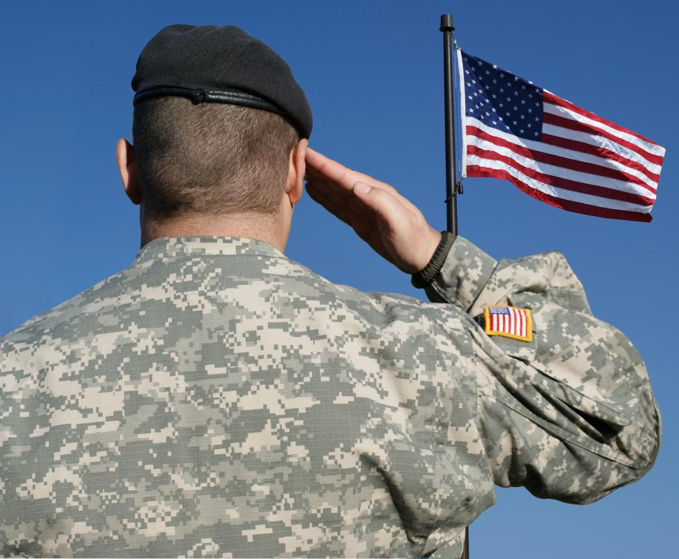 Those who serve their country in war are usually considered patriots.
