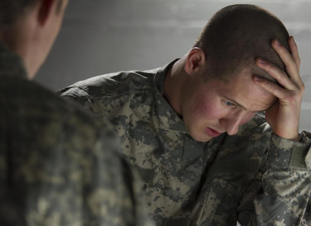 PTSD is caused by lingering effects from psychological and physical trauma.
