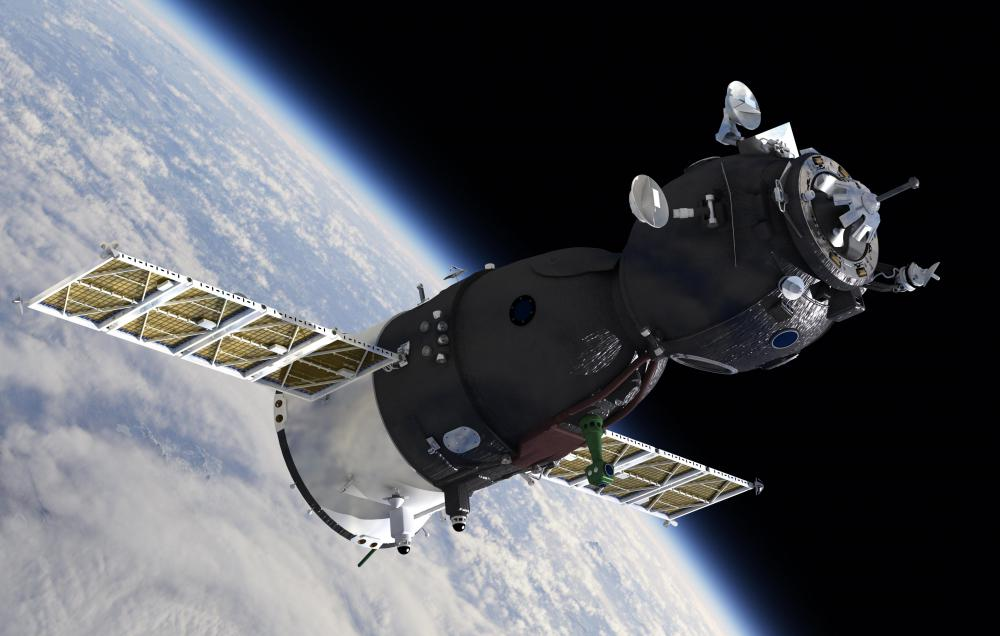 Manned spacecraft, including the Russian Soyuz capsule, are a type of artificial satellite.