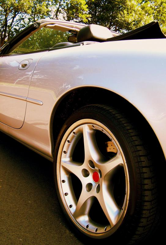 Mag wheels are a popular upgrade for sports cars due to their light weight.