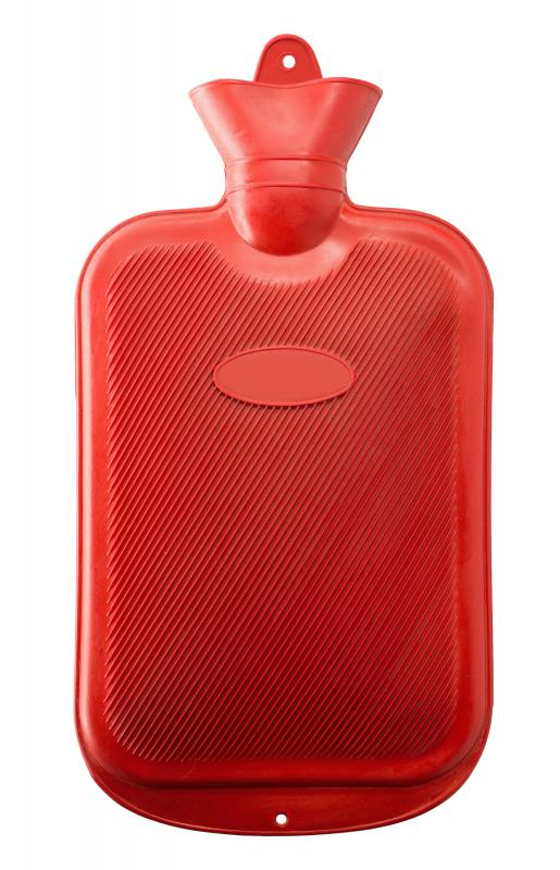 A hot water bottle may help alleviate discomfort associated with a furuncle.