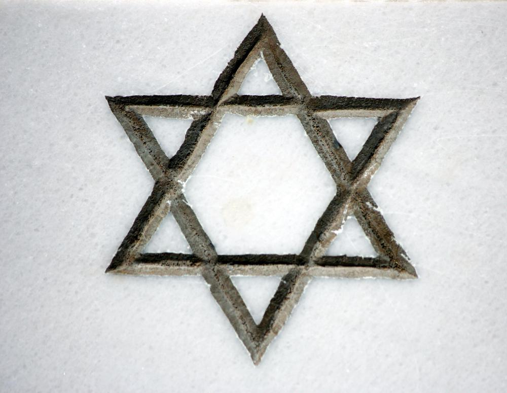 The Star of David is one of the most recognizable symbols of the followers of Judaism, the primary speakers of Yiddish.