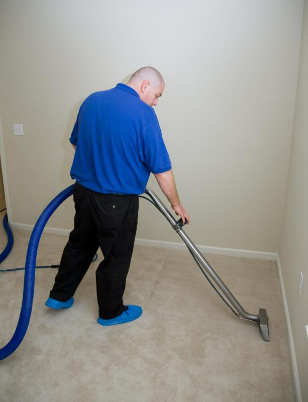 Preventive maintenance may include steam cleaning carpets.