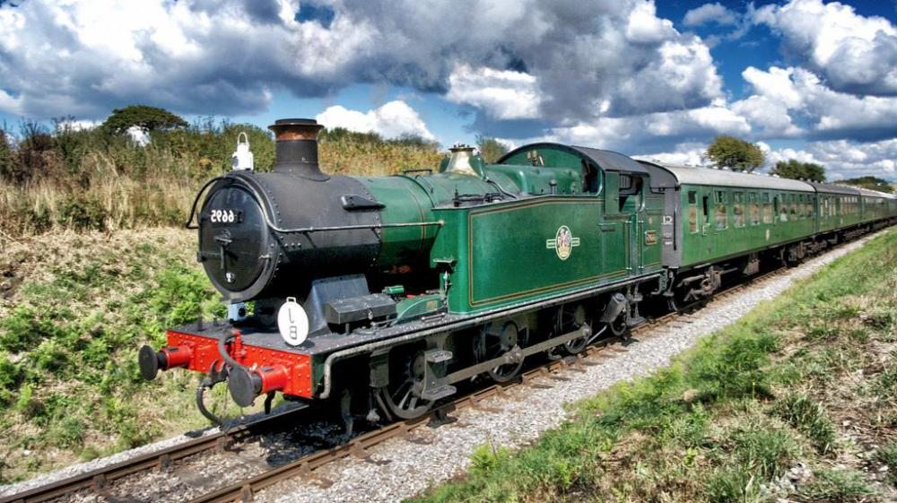 Excellent views of changing scenery are one of the main attractions of rail travel.