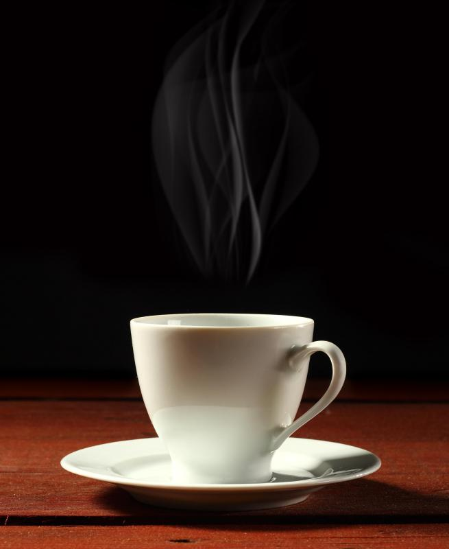 Inhaling steam from a hot beverage or shower can clear out clogged nasal passages.