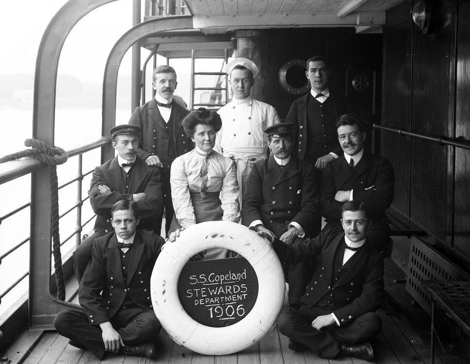 Pursers on passenger vessels have managed teams of stewards for centuries.